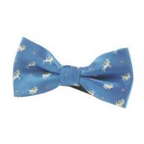 Fashion Designed Adjustable Neck Bowtie Boys Bow Tie [Sky Blue]