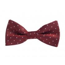 Fashion Designed Adjustable Neck Bowtie Boys Bow Tie [Burgundy]