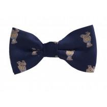 Fashion Designed Adjustable Neck Bowtie Boys Bow Tie [Cute Animal]