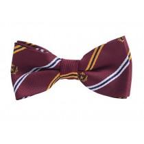 Fashion Designed Adjustable Neck Bowtie Boys Bow Tie [Burgundy, B]
