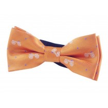Fashion Designed Adjustable Neck Bowtie Boys Bow Tie [Orange]