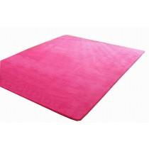 Baby Play Mat Crawling Activity Mat Gym Non-toxic Non-slip [Rose Red]