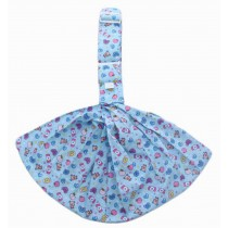 Practical Baby Carrier Front Carrier Cotton Baby Slings, Blue [ Candy Pattern ]