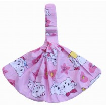 Practical Baby Carrier Front Carrier Cotton Baby Slings, Pink [ Puppy Pattern ]