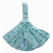 Practical Baby Carrier Front Carrier Cotton Baby Slings, Green Stripe