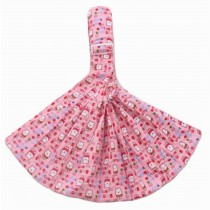 Practical Baby Carrier Front Carrier Cotton Baby Slings, Pink[ Bear Pattern]