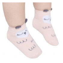 2 Pairs [Owl] Toddler Socks Cotton Socks for Baby Child Kid, 2-4 Years