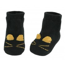 2 Pairs [Cute] Infant Toddler Socks Cotton Socks for Baby Child Kid, 0-2 Years