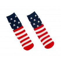 2 Pairs Kids Socks Knee High Stockings Unisex-baby Tube Socks for Kids [Star]