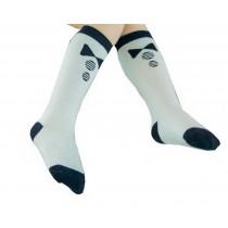 2 Pairs Kids Socks Knee High Stockings Unisex-baby Tube Socks for Kids [Bowknot]