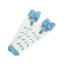 2 Pairs Knee High Stockings Unisex-baby Tube Socks for Kids [Cute Elephant]