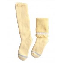 Winter Baby Knee High Stockings Children Tube Socks Leg Sock Yellow