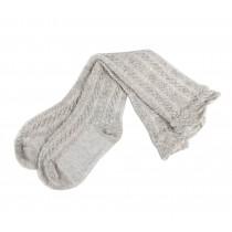 Beautiful Children Knee High Stockings Tube Socks Leg Socks Gray