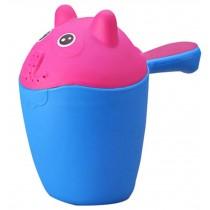 Baby Bath Water Spoon/baby Shampoo Swimming Toy  Bailer Spoon Ladle Blue cartoon
