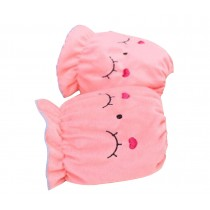 Baby Lovely Dust-proof And Anti-dirty Animal Oversleeves[Pink]