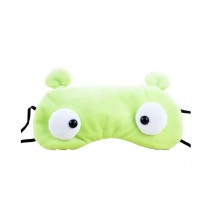 Creative Cartoon Eye Mask Funny Soft Eyeshade Ice Compress Eye Mask Green