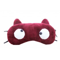 Creative Cartoon Eye Mask Funny Soft Eyeshade Ice Compress Eye Mask Red