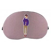 Creative Cartoon Eye Mask Funny Soft Eyeshade Ice Compress Eye Mask Pink