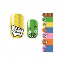 Set of 5 Lovely DIY Nail Stickers Decals Manicure Decals