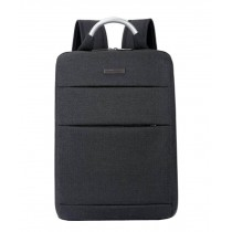 Simple Style Laptop Backpack Business Backpack Travel Bag Black
