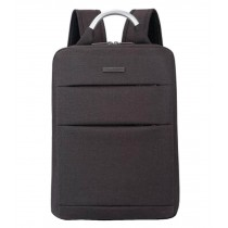 Simple Style Laptop Backpack Business Backpack Travel Bag Brown