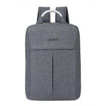 Fashion Laptop Backpack Business Backpack Travel Bag Gray