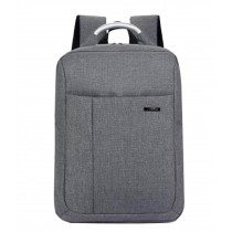 Fashion Laptop Backpack Business Backpack for Men Travel Bag Gray
