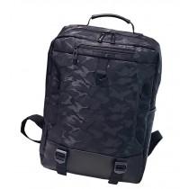Stylish Camouflage Laptop Backpack Sport Backpack Travel Bag Black