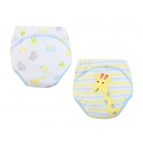 [Giraff] Baby Toilet Training Pants Nappy Underwear Cloth Diaper 15.4-26.4Lbs