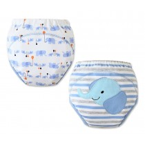 [Ultralisk] Baby Toilet Training Pants Nappy Underwear Cloth Diaper 15.4-26.4Lbs