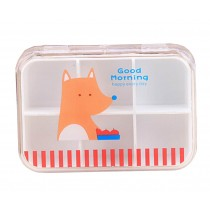 Set of 2 [Fox] Lovely Pill Box Pill Cases Pill Organiser