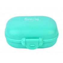 [Blue] Practical Pill Box Pill Cases Pill Container Pill Holder
