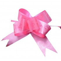 Beautiful Party Decoration Pull String Ribbons, 60PCS Gift Wrap Ribbons [Pink]