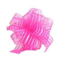 Decorative Pull String Ribbons [Pink] Wedding/Party Supplies, Set of 6