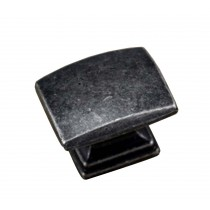 Set of 3 Fashion Single Hole Bronzed Drawer Handles Cabinet Pulls Silver