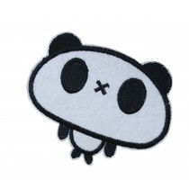 10PCS Embroidered Fabric Patches Sticker Iron Sew On Applique [Panda A]