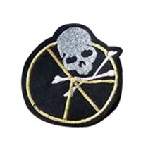 Set Of 2 Cool Cloth Badge Affixed Patch Stickers Applique Patches