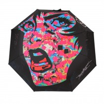 Creative Graffiti Folding Anti-UV Sun/Rain Umbrella, Face Graffiti Style