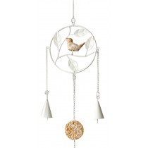 Diy Metal Bell Bells Home Accessories Wind Chime The Wind Bell White