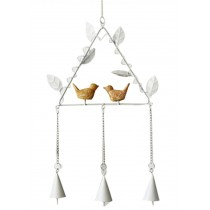 Diy Metal Bell Bells Home Accessories Wind Chime The Wind Bell White A