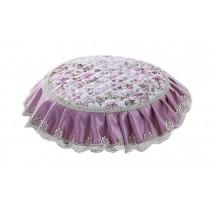 Creative Round Stool Cushion Four Seasons Upholstery Stools Pad Light Purple