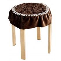 Lace Round Cushion Stool Pad Stylish Stool Pad Green Stool Pad Coffee