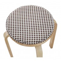 Creative Round Stool Cushion Warm Sponge Pad Bar Stool Mat Coffee