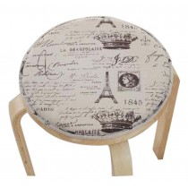 Fashion Cushion Round Stool Cushion Warm Sponge Pad Bar Stool Mat