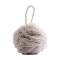 Bath Ball Shower Ball Mesh Brush Mesh Shower Ball [Light Brown]