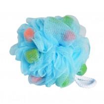 Set Of 2 Bath Ball Shower Ball Mesh Brush Mesh Shower Ball [Blue]