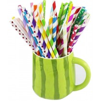 Set Of 50 Bar Supplies Modeling Straw Disposable Paper Straws