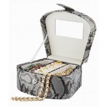 Practical Jewelry Organizer Portable Jewelry Box Ornaments Storage Case