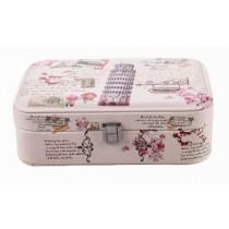 [ Leaning Tower ] Jewelry Box Jewelry Organizer Portable Ornaments Storage Case