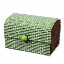 Set of 4 Vintage Novelty Decoration Box Jewelry Soapbox Storage Box Green